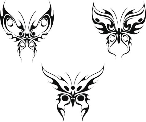 tribal butterfly tattoo designs gorgeous butterfly tattoos that look wonderful on the