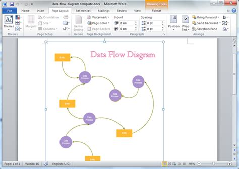 Context Diagram Microsoft Word Gallery How To Guide And Refrence Data Flow Diagram Template Word