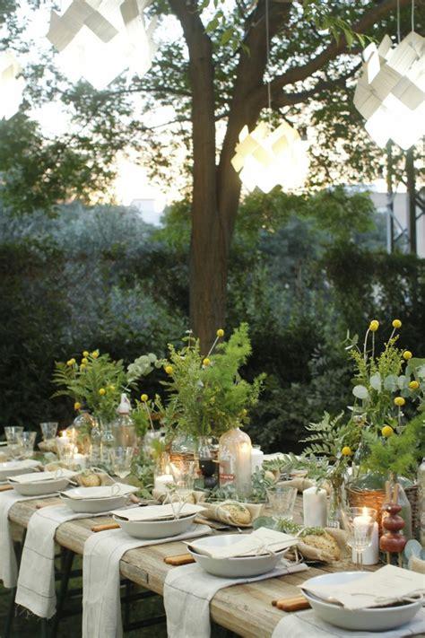 Tischdeko Gartenfest by 22 Deko Gartenparty Ideen Was Darf Auf Einem Gartenfest