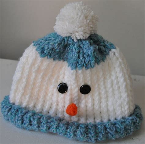 knitted snowman frosty knitting rays of
