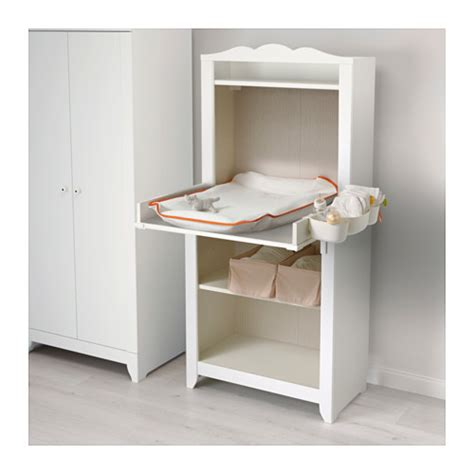 hensvik changing table top white ikea