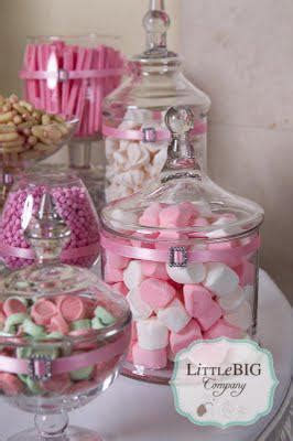 Beautiful Pink Candy Buffet for a Special Girl.   Paperblog