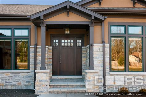 Custom Wood Front Door Craftsman Style Custom Front Entry Wood Door Custom Wood Front Entry Doors Door From Doors