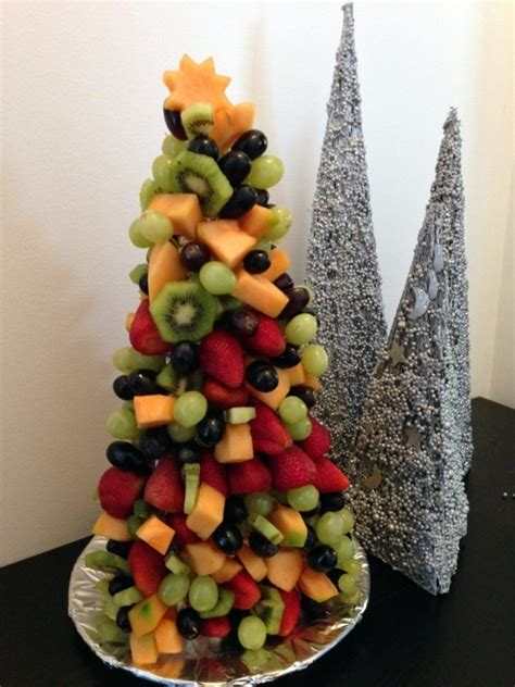 fruit christmas tree recipe recipeyum