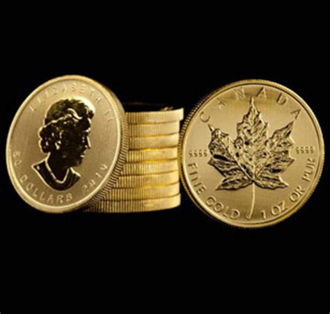 canadian gold coins, canadian maple leaf gold bullion