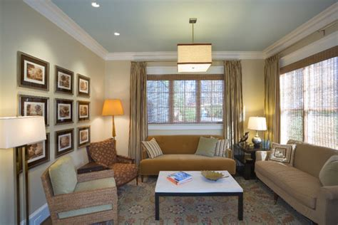 wall and ceiling color combinations can you please share the names of the beige and blue wall