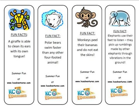 printable animal trivia zoo scavenger hunt free printable edventures with kids