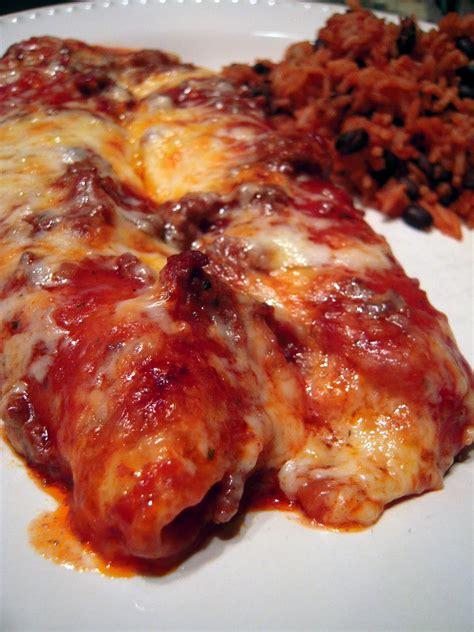 weeknight enchiladas plain chicken