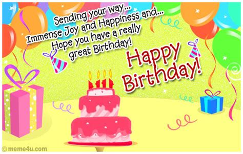 sending   immense joy  happiness  hope     great birthday pictures