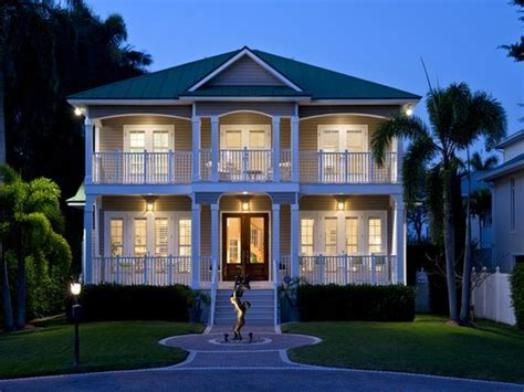 beach house plans with porches key west style beach house two story porches sculpture olde naples naples