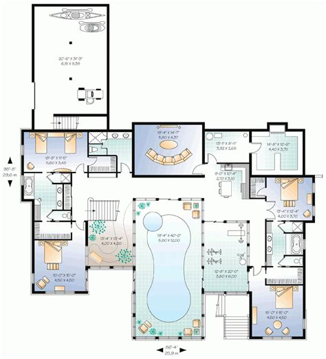 awesome floor plans awesome floor plans for homes with pools new home plans