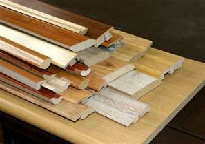 china accessories of laminate flooring mdf material