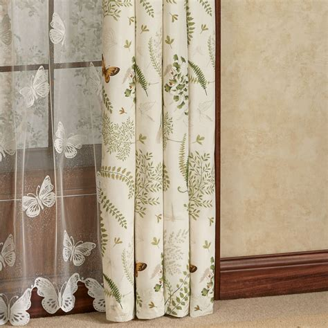 dragonfly curtains althea butterfly dragonfly window treatment