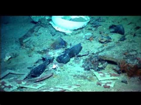 novas imagens do naufrágio do titanic. youtube