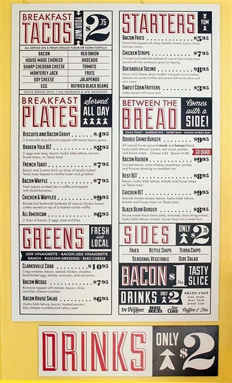 restaurant menu layout inspiration 40 smart and creative menu card design ideas