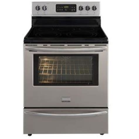 Oven Home Depot by Frigidaire Gallery 5 7 Cu Ft Electric Range With Self