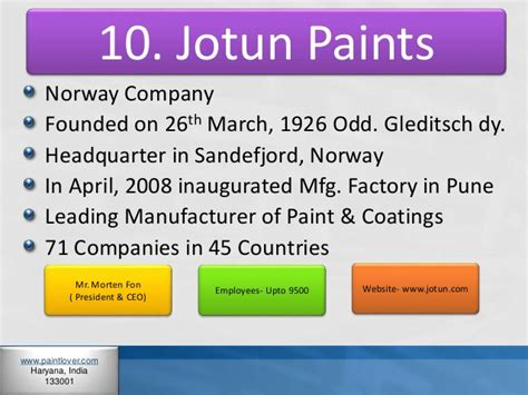 paint companies top 10 paint companies in india
