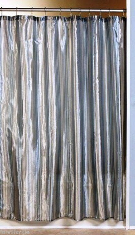 metallic silver shower curtain pin by chantae caldwell on for the love of linens pinterest