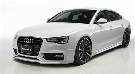 Audi A5 Sportback Modified by Audi A5 Sportback Modified By Wald International