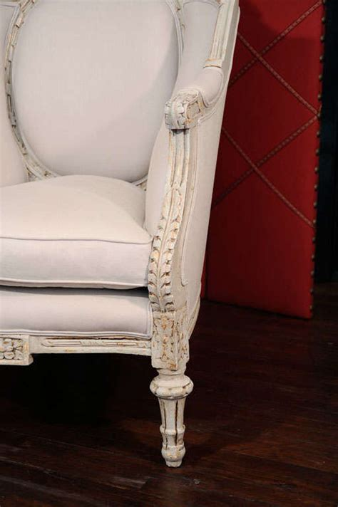 detailed french bergere chairs circa   stdibs