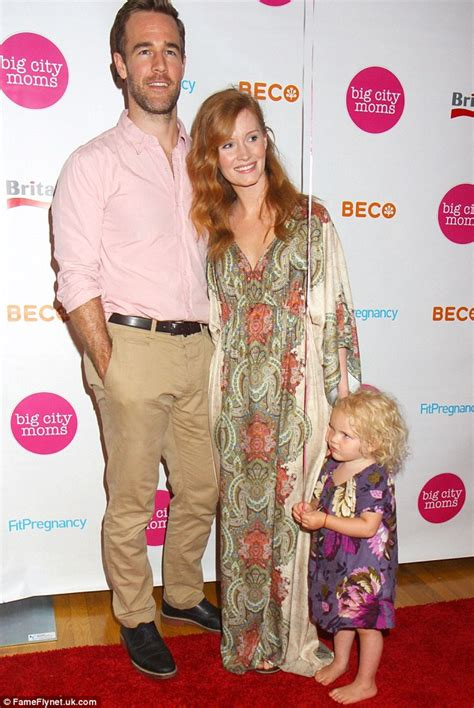 James Van Der Beek and family show off their matching red string Kabbalah bracelets   Daily Mail
