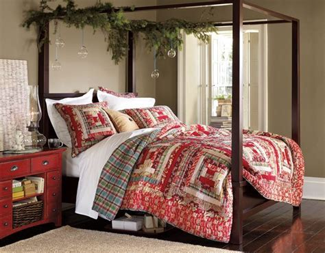 pottery barn christmas bedding pottery barn holiday bed bedroom pinterest