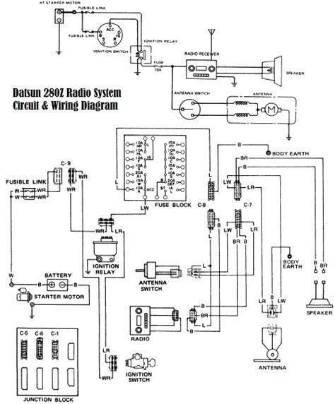 1977 280z wiring schematic 1977 280z mods wiring