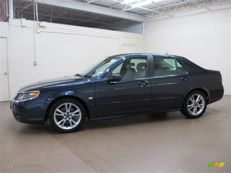 nocturne blue metallic 2006 saab 9 5 2 3t sedan exterior
