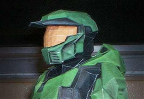 Master Chief Papercraft - papercrafty step into a world of paper the origami and