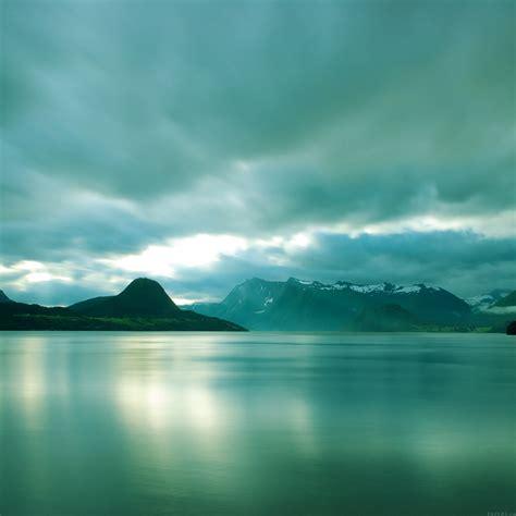 ml lake mountain green calm nature wallpaper