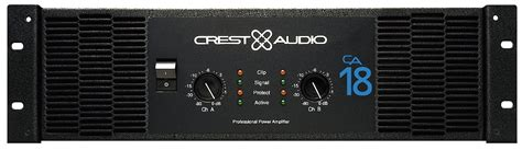 Power Lifier Crest Audio Ca 18 crest audio ca 18 susantoxp s pro