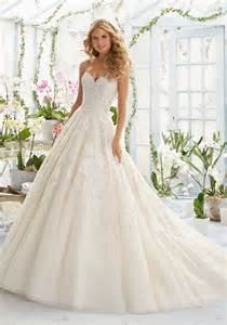 marriage dress for embroidery on classic tulle wedding dress style 2808 morilee