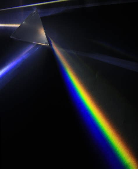 file light dispersion of a mercury vapor l with a flint