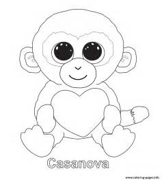beanie boo coloring pages casanova beanie boo coloring pages printable