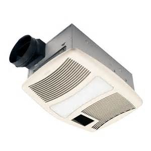 nutone bathroom fan light bathroom fans nutone qtxn110hl ventilation heater fan w