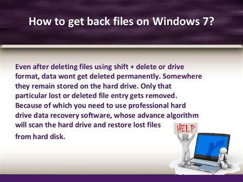 drive restore professional hard drive recovery software for windows 7 professional os