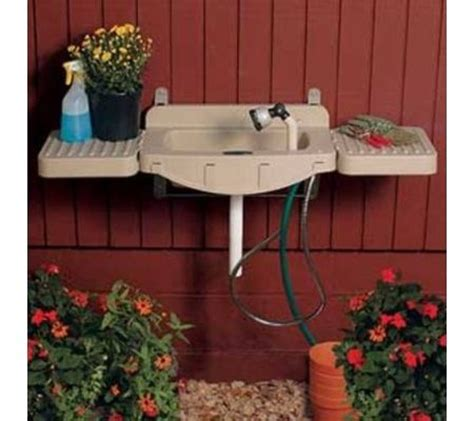 outdoor sink no plumbing required outdoor sink interiors outdoor sink station idea diy