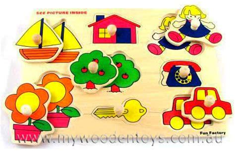 Wooden Knob Puzzles by Wooden Toys Puzzle With Knobs Educational At Wooden