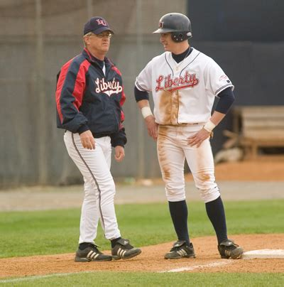 baseball couch royer resigns as liberty s baseball coach liberty flames