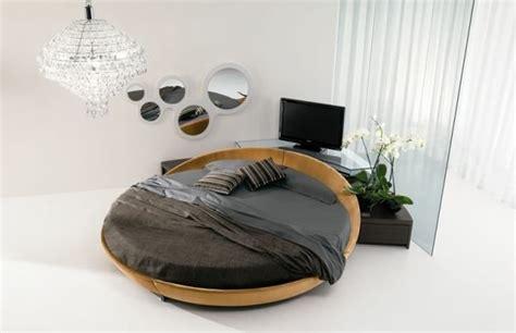 lit rond en bois moderne et design pour transformer