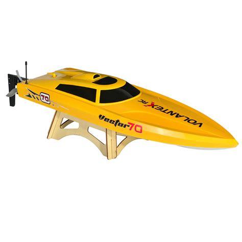 vector 80 rc boat volantex v792 1 vector 70 yellow rc speed boat rtr at