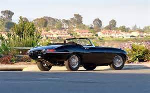 Jaguar X Type 1960 1967 Jaguar E Type Series 1 Roadster Black Static