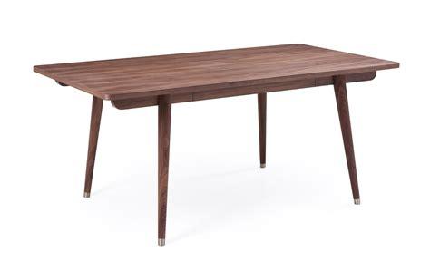modern walnut dining table modrest gloria modern walnut dining table modern dining