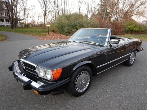 mercedes for sale 1989 mercedes 560 sl convertible for sale