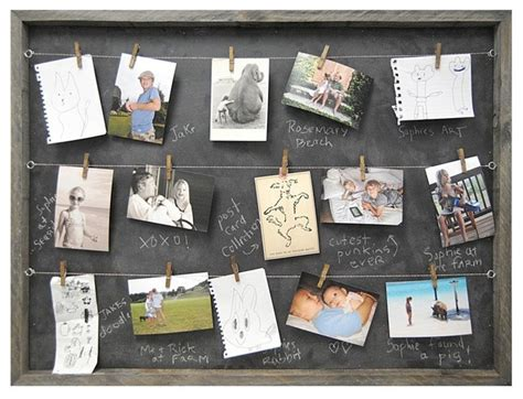 photo board ideas sugarboo designs art print memory board contemporary