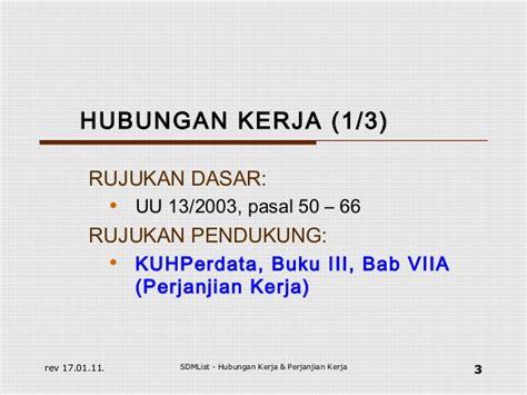 Ilmu Perundang Undangan 12 Asli hubungan kerja pk pkwt pkwtt outsourcing