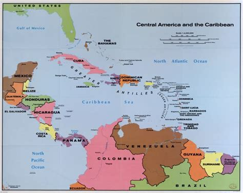 america and caribbean map bera issue 21 american business and economics