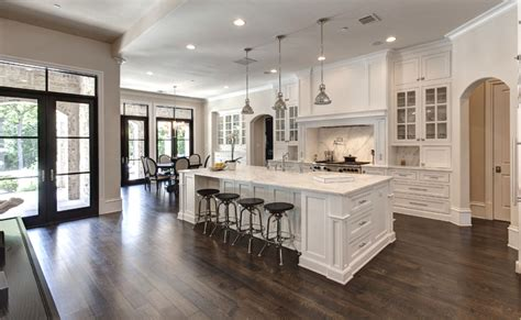 White Shaker Kitchen ? Hickory Granite ? Thewoodloorsource.com