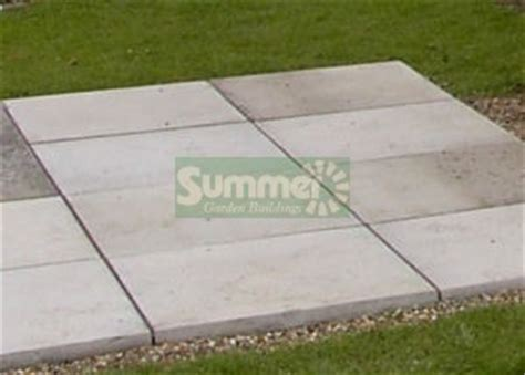 Shed Base Paving Slabs by Prices For Paving Slab Bases