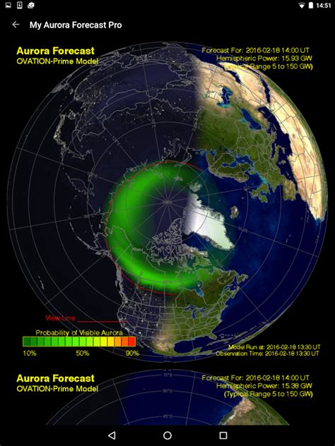 northern lights current forecast my forecast alerts northern lights